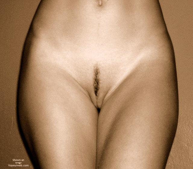 Pic #1 - Sepia Frontal Teaser - Landing Strip , Sepia Frontal Teaser, Landing Strip In Sepia, Little Hair Pussy, Artistic Nudes, Landing Strip