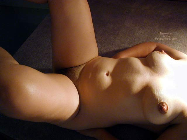Pic #6 - OH Wife Hard Nipples, Shadows & Curves
