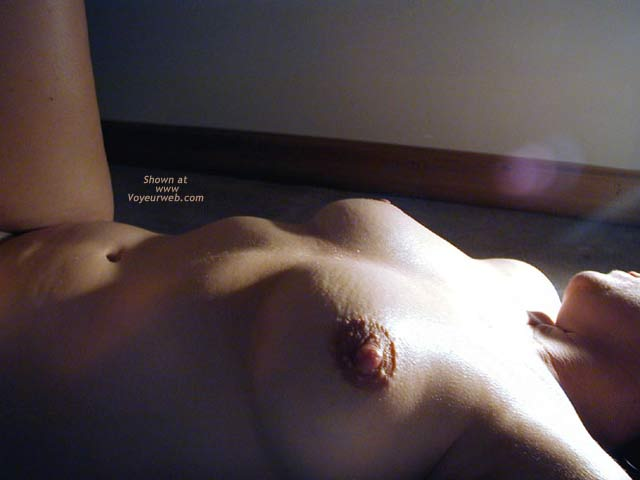 Pic #7 - OH Wife Hard Nipples, Shadows & Curves