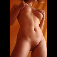Nude Frontal Torso Hands Cupping TITS - Big Tits, Shaved Pussy, Naked Girl, Nude Amateur