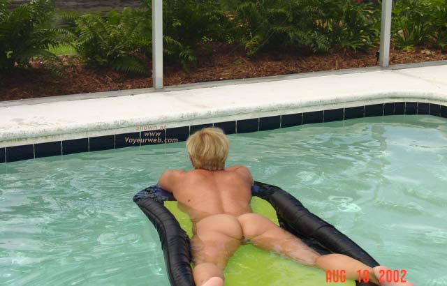 Pic #3 - Naked in The Pool