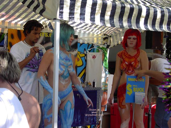 Pic #3 - Key West Fantasy Fest 2002 #2