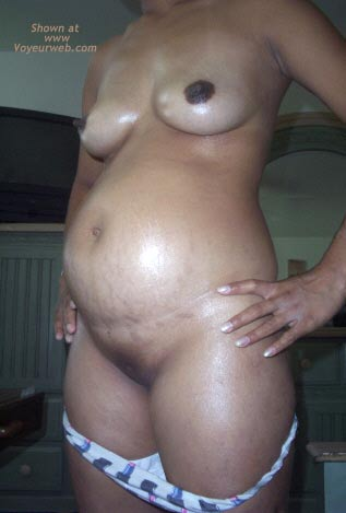 Pic #3 - Wife's Pregnant Belly