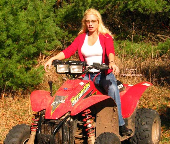 Pic #2 - Candy Goes 4 Wheeling