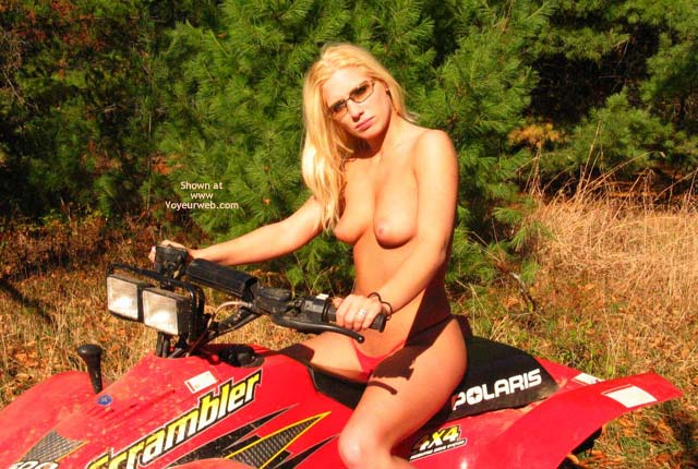 Pic #5 - Candy Goes 4 Wheeling