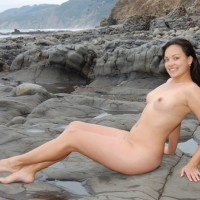 Nude Milf - Black Hair, Dark Hair, Erect Nipples, Milf, Nude Outdoors, Naked Girl, Nude Amateur