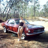 Nudist Dee And Our 67 Mustang
