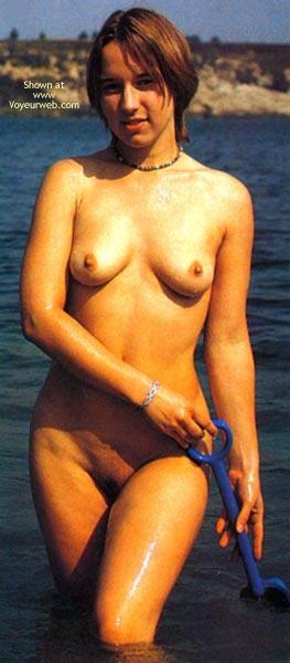 Pic #3 - My 18yo Girl On Beach