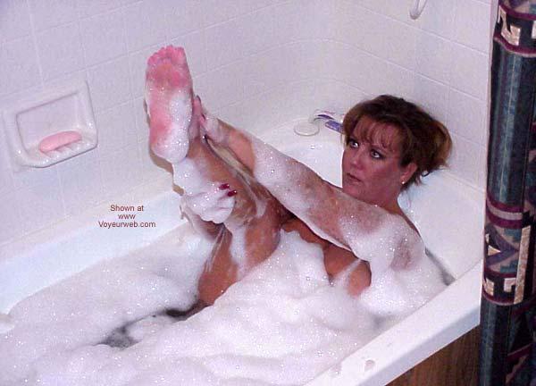 Pic #3 - Sara Takes a Bubble Bath