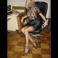 Black Leather Mini Monica