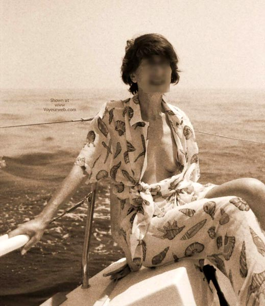 Pic #1 - Nude On Boat
