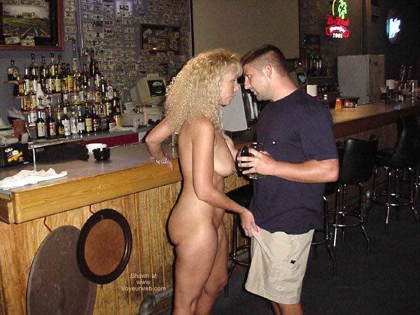 Pic #7 - Alysha Nude In A Sports Bar