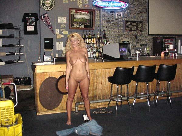 Pic #8 - Alysha Nude In A Sports Bar