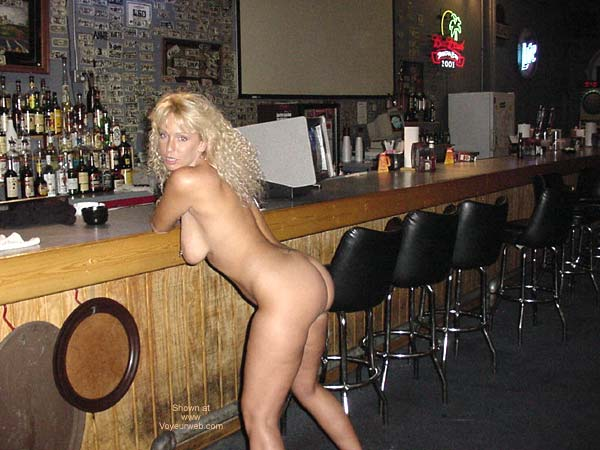 Pic #9 - Alysha Nude In A Sports Bar