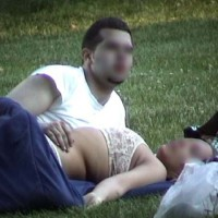 Couple in The Park 2