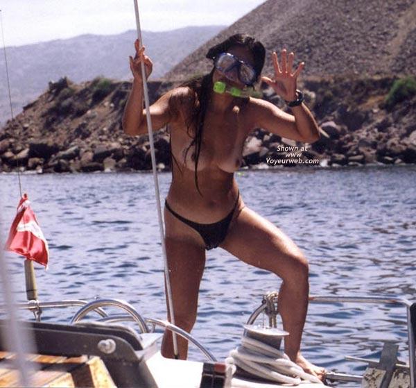 Pic #7 - Lani Nude in Public, Skin Diving 1