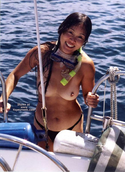 Pic #9 - Lani Nude in Public, Skin Diving 1