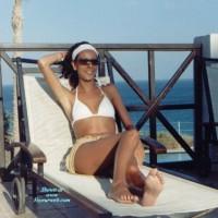 Letizia At The Seaside