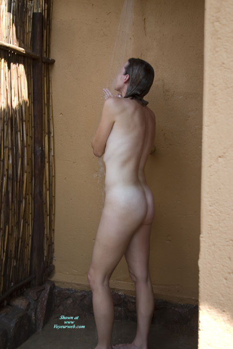 Pic #1 - Shy Wife Gets Naked , Wife And I Went On Vacation To S. Africa. First Time She Has Ever Been Naked For The Camera.