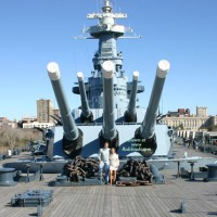 Touring The Battleship