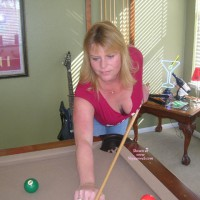 je Renee Playing Pool