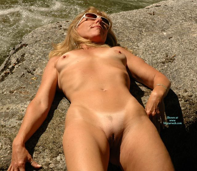 Pic #1 - Prominent Ribs - Blonde Hair, Shaved Pussy, Small Tits, Tan Lines, Trimmed Pussy, Naked Girl, Nude Amateur , Lean Firm Body, Nice Snatch Crack, Twat Shot, Pussy Cleft, Naked Sunbathing, Nude On The Rocks, Goosebumps On Tits And Pussy, Sunny Pussy, Smooth Outer Labia, Sunbathing On Rocks