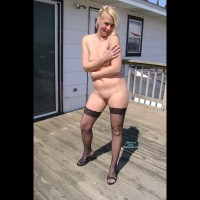 Sexy Angel On The Deck!!