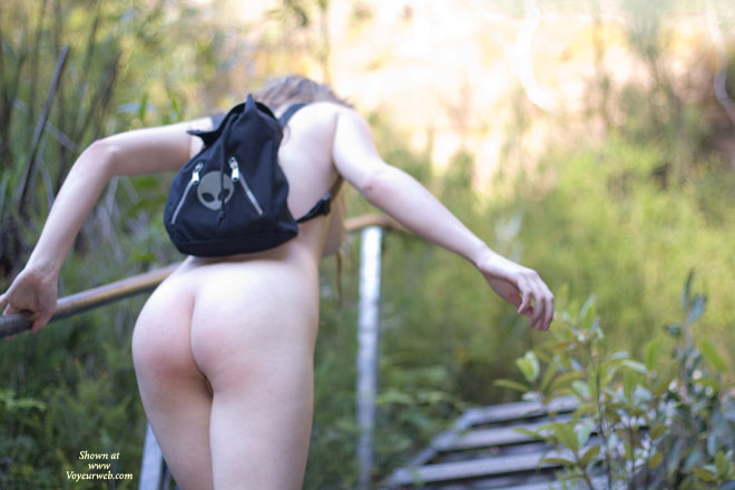 Pic #3 Hiking Back To The Car.. Nude