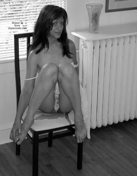 Pic #4 - Laila Black & White Strip