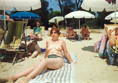 Pic #3 - My Aunt On The Beach