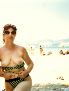 Pic #4 - My Aunt On The Beach