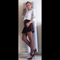 Susy Rocks Pantyhose And High Heels