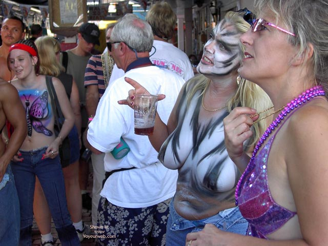 Pic #1 - Key West Fantasy Fest 2002 #4