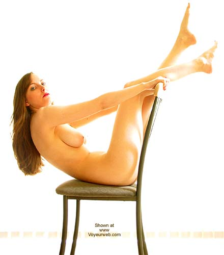 Pic #8 - VW_Laura Posing On a Chair