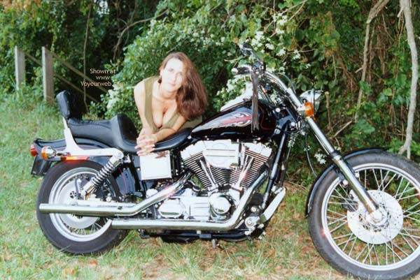Pic #3 - First Timer On A Harley