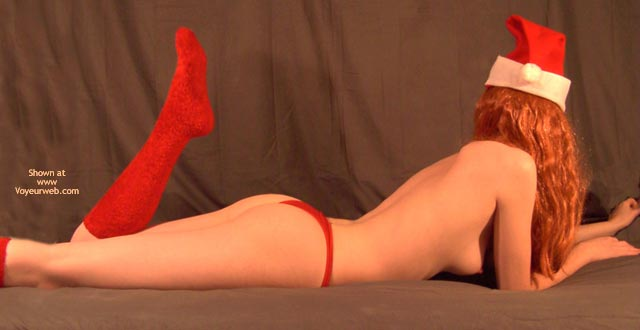 Pic #6 - Redhead Madison As Miss Claus