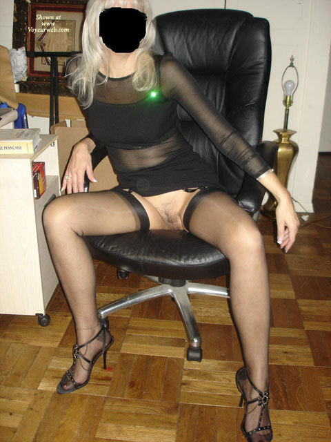 Pic #1 - Monica's Nylons , Monica,Tease,Pussy,Ass,Fur