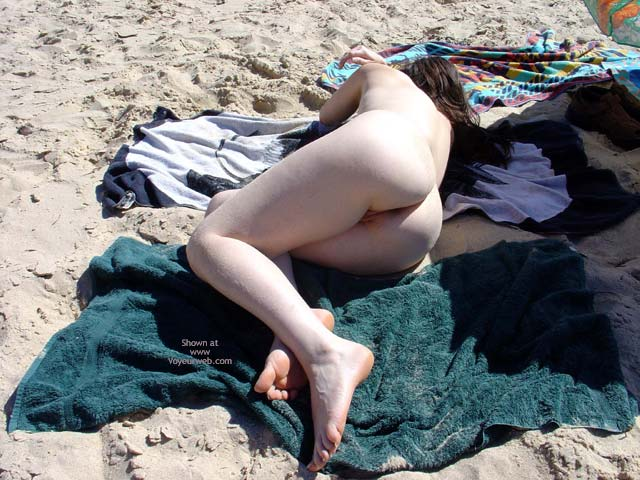 Pic #3 - First Nude Beach Pose