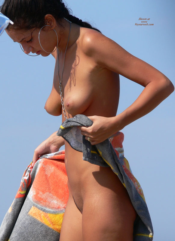 Beach Titties - Brunette Hair, Landing Strip, Large Aerolas, Long Hair, Nude Beach, Trimmed Pussy, Beach Tits, Beach Voyeur , Flat Tummy, Slender Body, Tight Beach Babe, Landing Strip Trim, Great All Over Tan, Long, Thin Landing Strip, Large Round Pale Areolas, Slim Figure, At The Beach, Medium Banana Titties