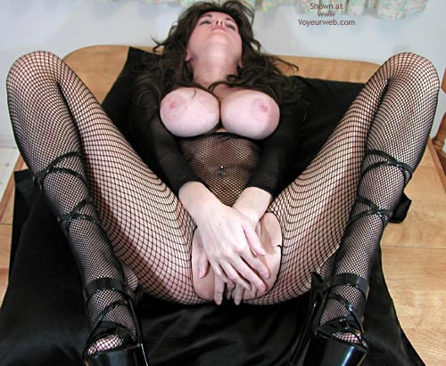 Pic #6 - Nadine Tries On Her Body Stocking Again