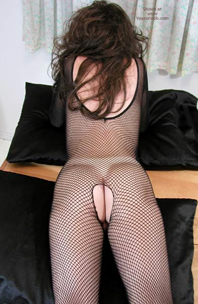 Pic #7 - Nadine Tries On Her Body Stocking Again