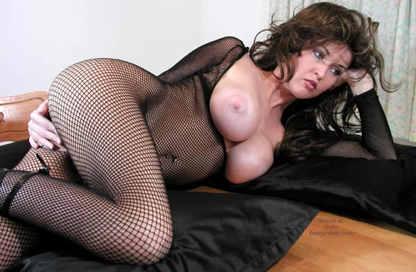 Pic #8 - Nadine Tries On Her Body Stocking Again