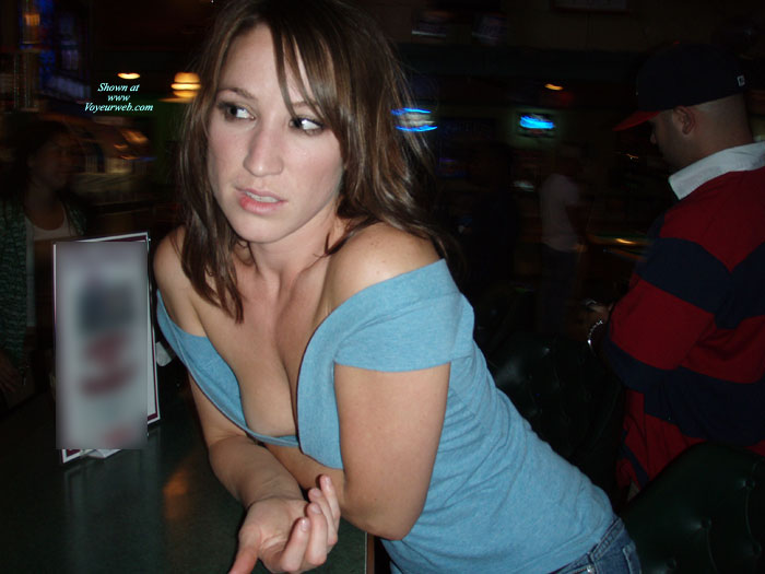 Pic #3 - Public Nipple Slips