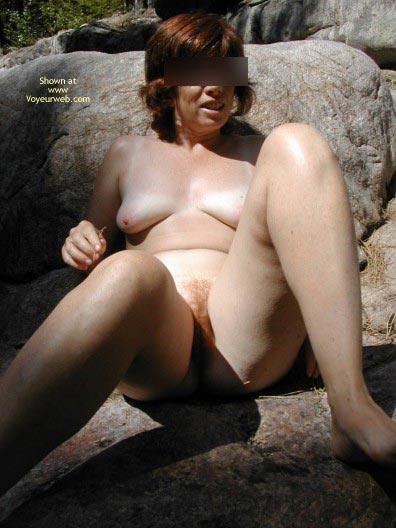 Pic #3 - Redwife Out In The Nature
