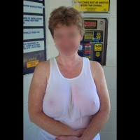 Mrs. Cleavage Out And About