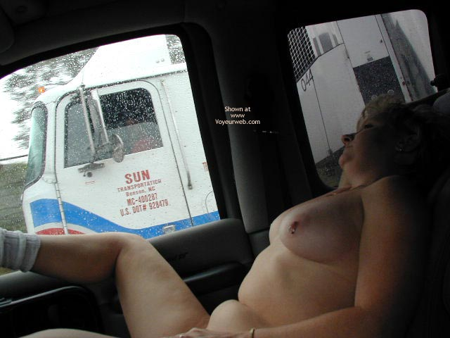 Pic #2 - Sami Flashing Truckers