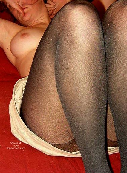 Pic #5 - Maynne'S Black Nylons