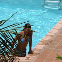 Thongs At The Pool
