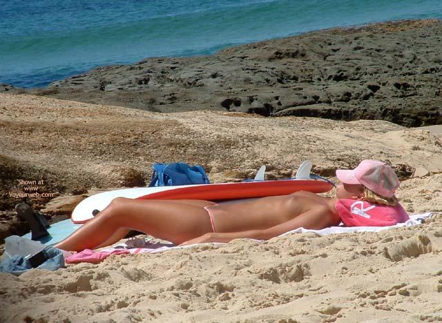 Pic #1 - Beach Boobs !