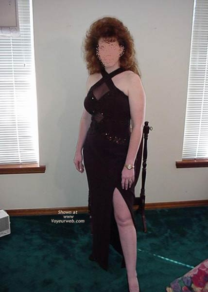 Pic #1 - Redhead Housewife Formal Dress